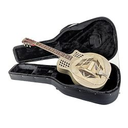 Royall Trifecta Antique Steel 12 Fret Cutaway Tricone Resonator with Case