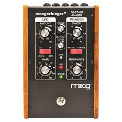 Moog MF103 Moogerfooger 12 Stage Phaser Effects Pedal – Black