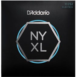 D'Addario NYXL1152 Nickel Wound Electric Guitar Strings, Medium Top/Heavy Bottom, 11-52
