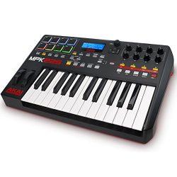 Akai Professional MPK225 | 25-Key USB MIDI Keyboard & Drum Pad Controller with LCD Screen (8 ...