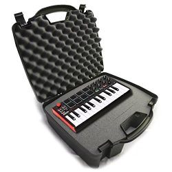 STUDIOCASE Recording Equipment Travel Hard Case w/ Customizable Foam fits Alesis SR18 and SR16 D ...
