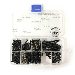 MAKA Guitar Screw Kit Assortment Box Kit for Electric Guitar Bridge, Pickup, Pickguard, Tuner, S ...