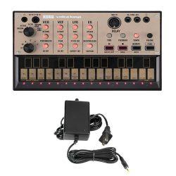 Korg Volca Keys Analog Synthesizer with Korg Power Supply Bundle
