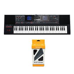 Roland E-A7 61 Key Expandable Arranger Keyboard with Official Roland Brand Dust Cover