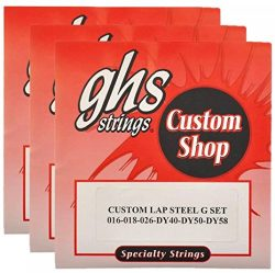 GHS Electric Lap Steel Strings G Tuning 16-58 (3 Pack)