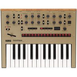 Korg Monologue Monophonic Analog Synthesizer with Presets -Gold (MONOLOGUEGD)