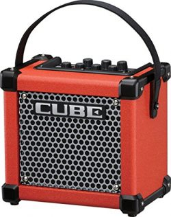 Roland Micro Cube GX 3W 1×5 Battery Powered Guitar Combo Amp Red