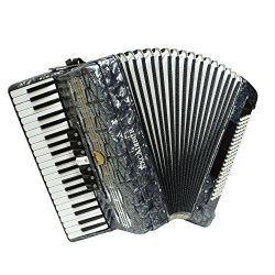 Excalibur Super Classic 120 Bass Accordion – Pearl Gray