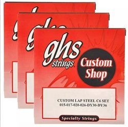 GHS Electric Lap Steel Strings C6 Tuning 15-36 (3 Pack)