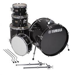 Yamaha Rydeen 5pc Shell Pack with 22″ Bass Drum, Black Glitter
