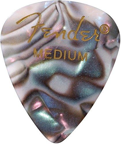 Fender 351 Shape Premium Picks (12 Pack) For Electric
