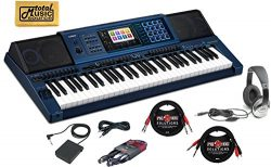 Casio keyboard MZ-X500 Digital Piano Arranger casio Keyboard 61 Keys piano kit with foot pedal f ...