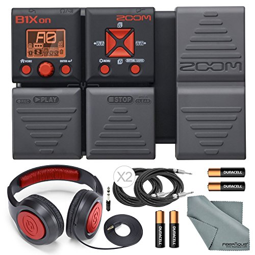 Zoom B1Xon Bass Effects Pedal with Expression Pedal w/ Basic Accessories – Samson Stereo H ...