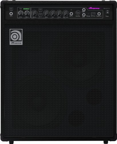 Ampeg BassAmp Series BA-210 450W RMS Dual 10″ Ported, Horn-Loaded Combo with Scrambler