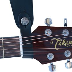 Fretfunk® Acoustic Guitar Strap Button (Black)
