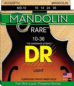 DR Strings Mandolin:  10, 14, 24, 36