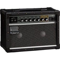 Roland JC-22 Jazz Chorus 30W 2×6.5 Guitar Combo Amplifier Black