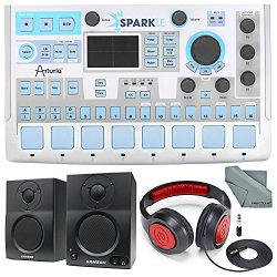 Arturia SparkLE Hardware Controller and Software Drum Machine and Deluxe Bundle w/ Samson SR360  ...