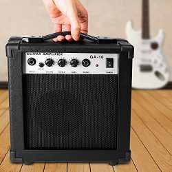 Luvay 10 Watt Electric Guitar Amplifier, with Back Support – Stand