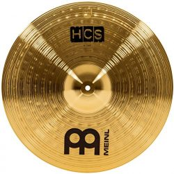 Meinl Cymbals HCS18C 18″ HCS Brass Crash Cymbal for Drum Set (VIDEO)