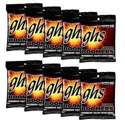 GHS Strings GBL 10 pack Nickel Plated Electric Guitar String, Light