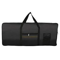 Andoer Portable 61-Key Keyboard Electric Piano Padded Case Gig Bag Oxford Cloth