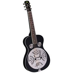 Regal RD-40BS Studio Series Squareneck Resophonic Guitar – Black