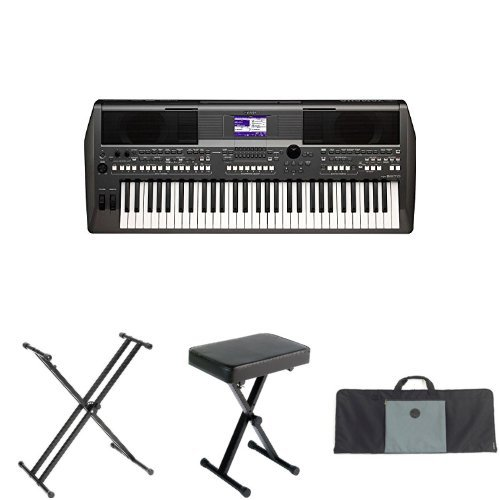 yamaha psr s670 61 key arranger workstation with yamaha. Black Bedroom Furniture Sets. Home Design Ideas