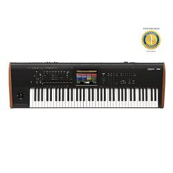 Korg Kronos 73 note Keyboard Workstation Synthesizer with RH3 Graded Hammer Action , Solid state ...