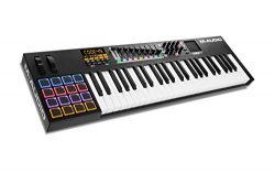 M-Audio Code 49 Black | 49-Key USB MIDI Keyboard Controller with X/Y Touch Pad (16 Drum Pads/9 F ...