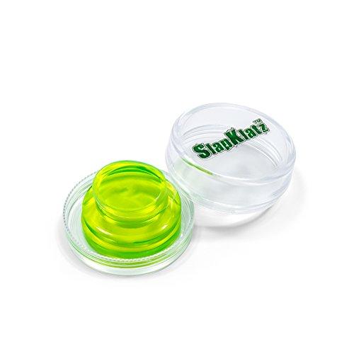SlapKlatz (Alien Green) – 4-pack of premium Drum Gel Dampeners