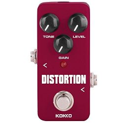 Distortion Guitar Pedal Mini Guitar Effect Pedal Processor of Classic Distortion Tone Effect Uni ...