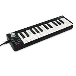 Pyle USB MIDI Keyboard Controller – 25 Key Portable Audio Recording Workstation Equipment  ...