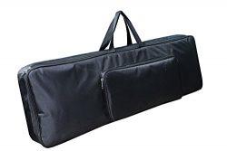 Korg PA1000 61‑Key Professional Arranger Keyboard Heavy Padded Full Black Bag