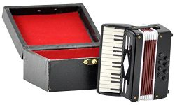 【Accordion】 1/6 Scale Miniature Musical Instrument