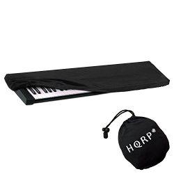 HQRP Elastic Keyboard Dust Cover for Roland GW-8 JD800 JP-8000 JUNO-106 JUNO-2 JUNO-6 Digital Pi ...