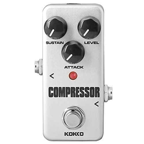 Compressor Guitar Pedal, Mini Effect Processor Fully Analog Circuit Universal for Guitar and Bas ...