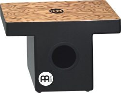 Meinl Percussion TOPCAJ1MB Makah Burl Slap-Top Cajon with Internal Snare and Forward Projecting  ...