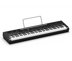 Artesia PA-88H 88-Key Weighted Hammer Action Digital Piano with Sustain Pedal & Power Supply ...