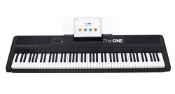 The ONE Smart Keyboard Pro, 88-Key Digital Piano Keyboard, Portable Digital Piano, Weighted Acti ...