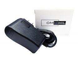 OMNIHIL Replacement AC/DC Adapter for Yamaha PSR-F51 61-Key Portable Keyboard Power Supply