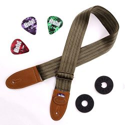 Stringed Instruments Strap for Acoustic, Electric and Bass Guitars, Mandolins and Ukuleles by Ho ...
