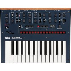 Korg Monologue Monophonic Analog Synthesizer with Presets -Blue (MONOLOGUEBL)