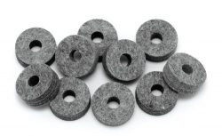 Pacific Drums PDAX4885 Cymbal Felts – 10 Pack