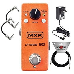 MXR M290 Mini Phase 95 Phaser Effects Pedal for Electric Guitar includes (Power Adapter) with 2  ...