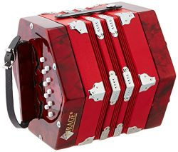 Mirage C7001 20-Button 40-Reed Concertina Accordion