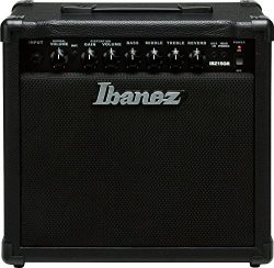 Ibanez Electric Guitar Mini Amplifier, Black (IBZ15GR)