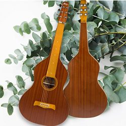 WINZZ Hawaiian Weissenborn Classic Acoustic Lap Steel Guitar for Enthusiasts