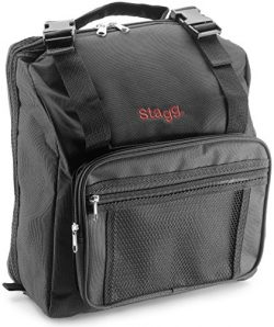 Stagg ACB-120 Standard Bag for Accordion – Black