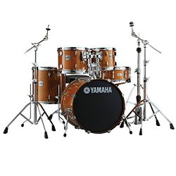 Yamaha Stage Custom Birch Acoustic Shell Pack 5-piece Drum Kit with with 22″ Kick, 16&#824 ...